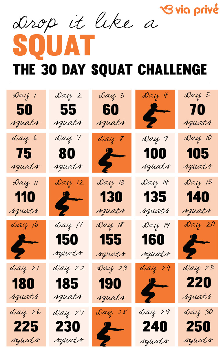 The 30 Day Squat Challenge