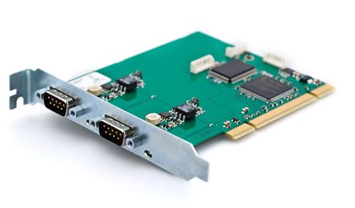 00343-9 Kvaser PCIcanx II HS/HS