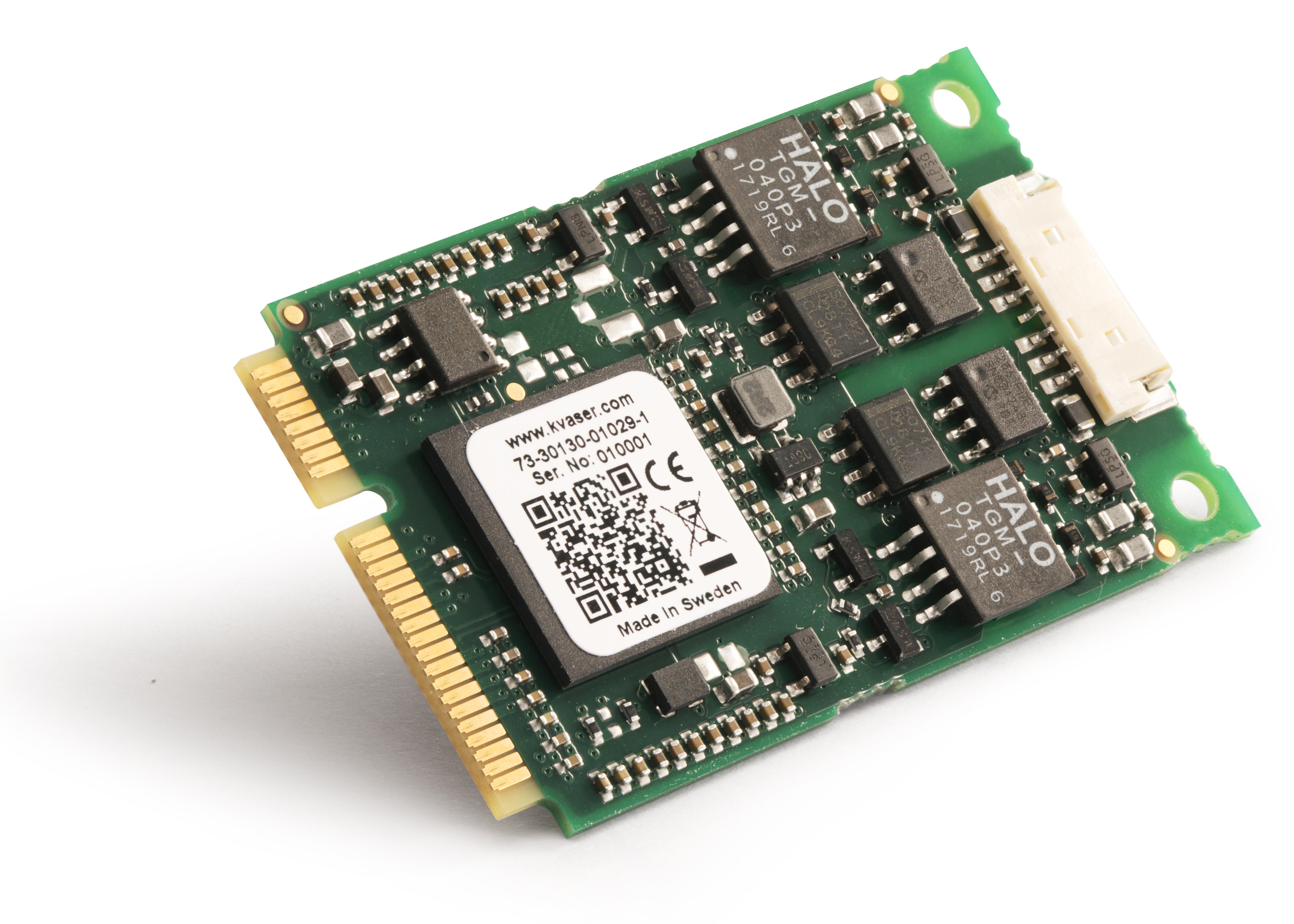 01029-1 Kvaser Mini PCI Express 2xHS v2