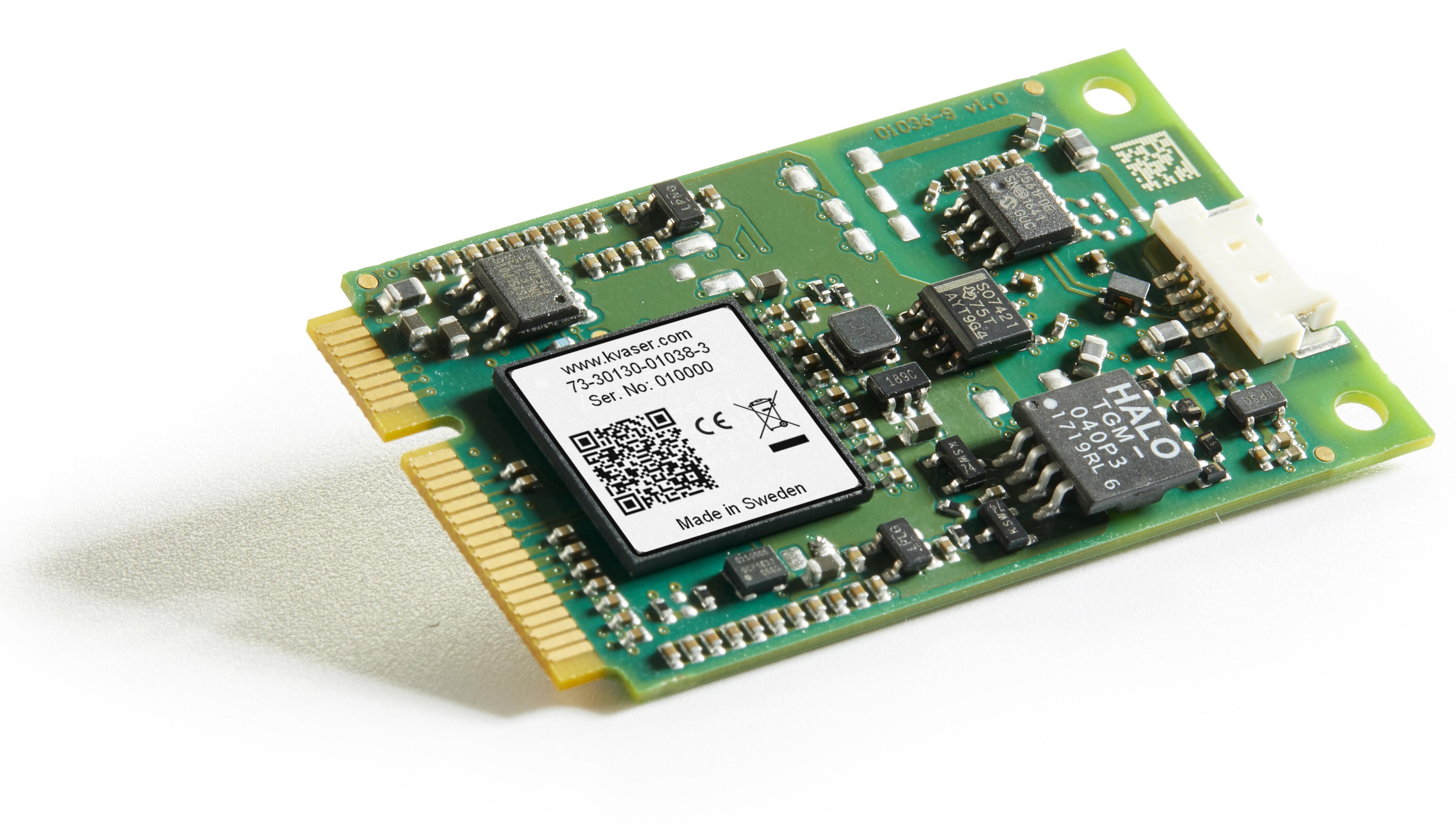 01038-3 Kvaser Mini PCI Express HS v2