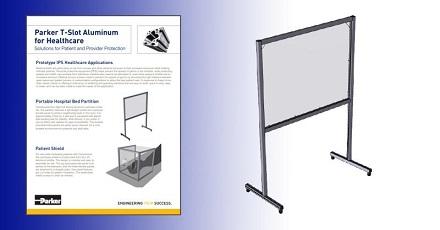 Parker IPS T-Slot Aluminum for Healthcare