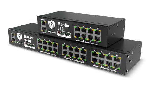 Master 2410 for up to 24 sensors