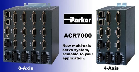 Parker ACR7000 Series Mult-Axis Servo System
