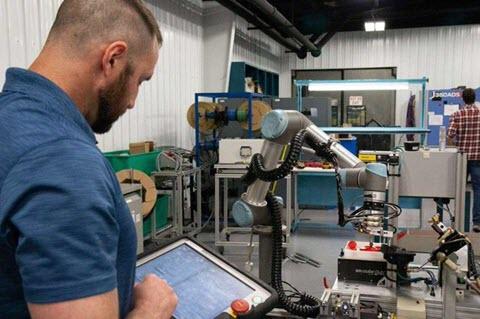 Universal Robots flexible automation recession