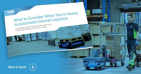 Mobile Industrial Robots E-Book Automate Your Internal Logistics