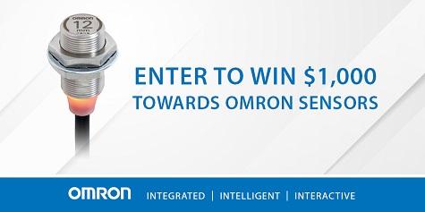 Omron Sensor Giveaway