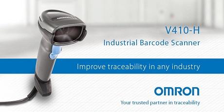 Omron V410-H Industrial Barcode Scanner
