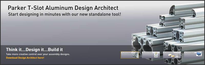 Parker T-Slot Aluminum Design Architect