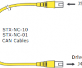 CANopen Network Cable 1 Foot
