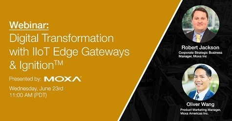 Moxa Digital Transformation IIoT Edge Gateways