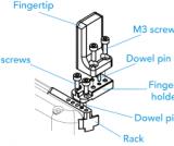 Hand-E V-Groove Fingertip Kit