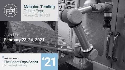 Universal Robots Machine Tending Online Expo