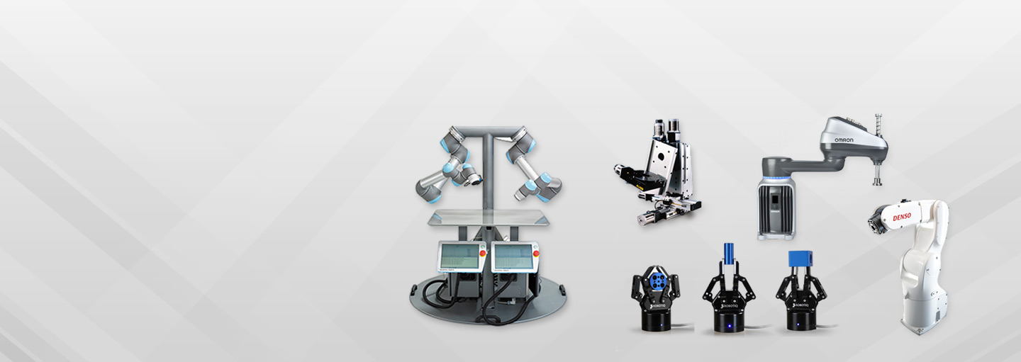 Collaborative Robots Grippers and Articulated Robots
