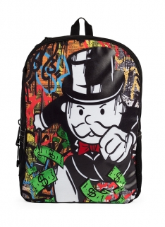 MOJO LIFE x MONOPOLY SPRAYPAINT BACKPACK