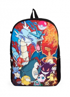 POKEMON BRICK WALL PARTY BACKPACK