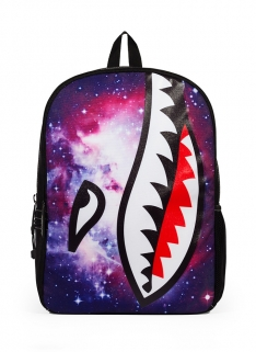 Mojo Galactic Shark Backpack