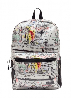 Jean-Michel Basquiat Street Art Backpack