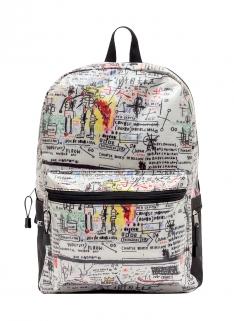 Jean-Michel Basquiat Street Art Backpack
