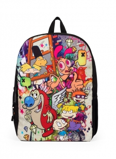 Nick Mojo Graffiti Mashup Backpack