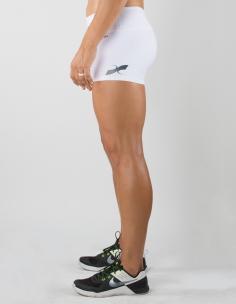 White Womens Shorts