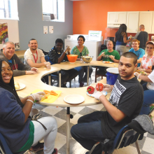 Cooking is part of the Group Supported Employment's 