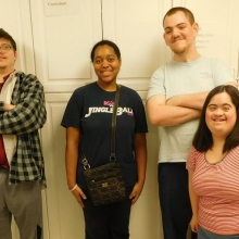 Newly elected Watch City Self Advocates officers
