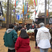 Enjoying King Richard's Faire, October 2015