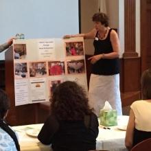 GWArc CEO Roz Rubin presents GWArc's arts program