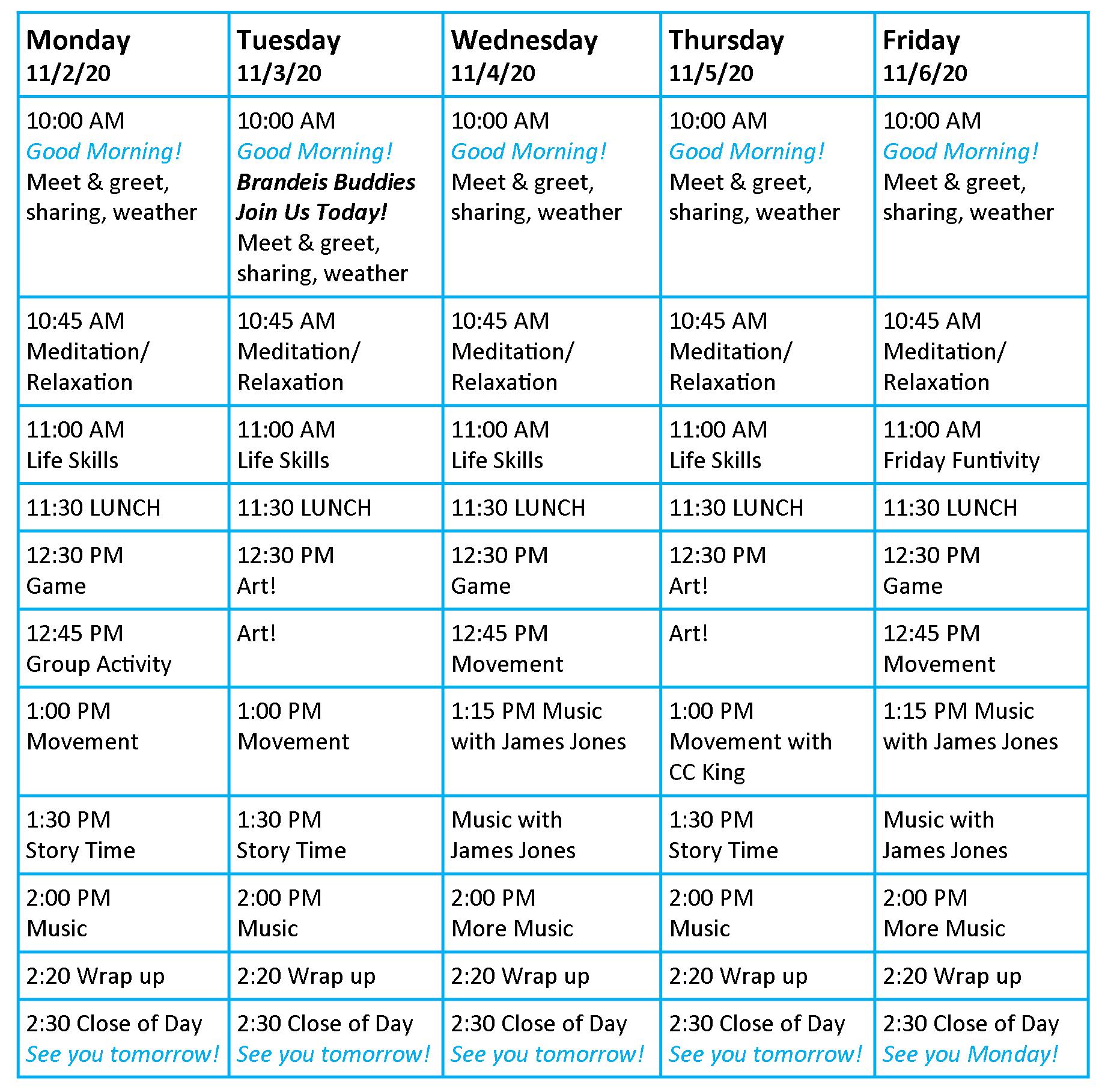 Zoom_Schedule_of_Activities_11-2-20_-_11-6-2020201102105921