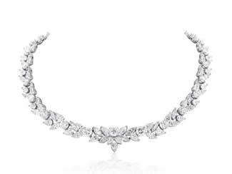 48.95ct Fancy Shape Diamond Necklace