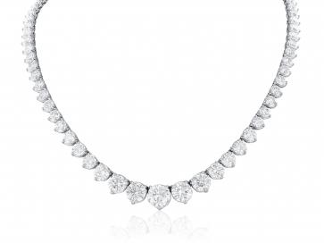 44.60ct Diamond Riviera Necklace