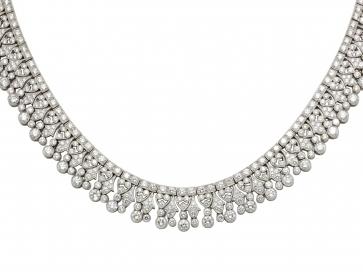 Vintage Style Diamond Necklace