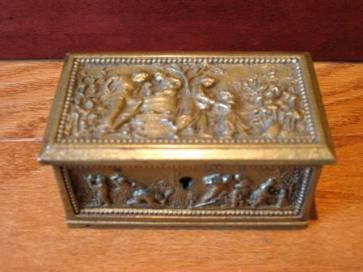 Antique Bronze Box