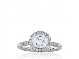 1.09ct Round Brilliant Cut Diamond Ring