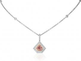 .76ct Pink Diamond Pendant