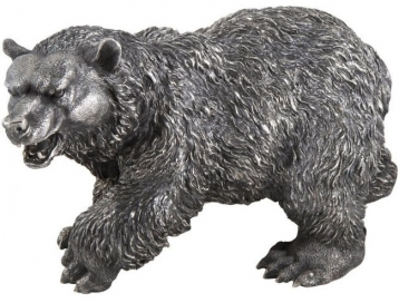 Estate Buccellati Sterling Silver Bear