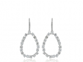 5.80ct Diamond Drop Earrings