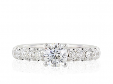 .74ct F VS1 AGS Certified Diamond Ring