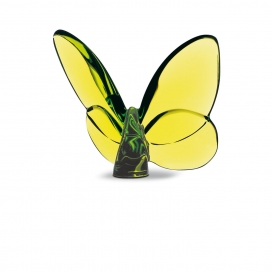 Baccarat Butterfly Green