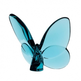 Baccarat Butterfly Turquoise