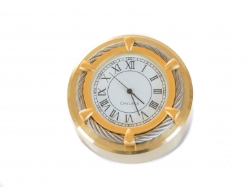 Chelsea Button Clock With Cable Bezel