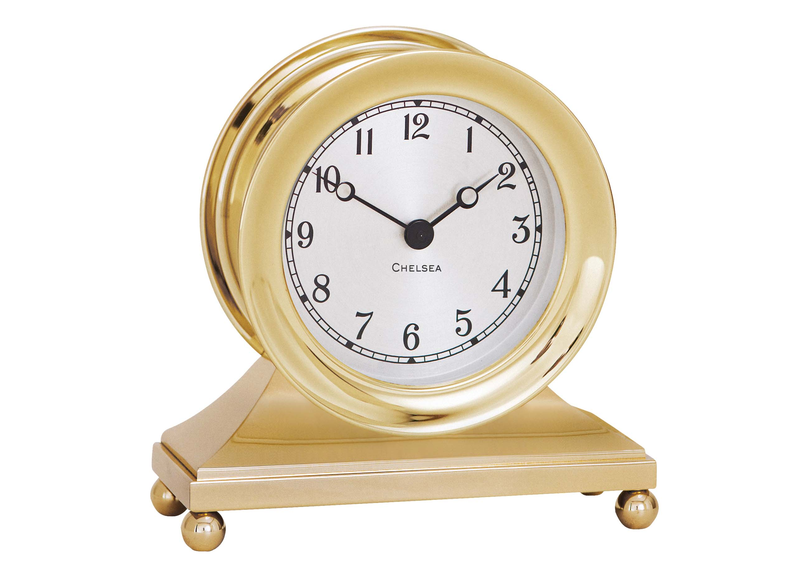 Chelsea Constitution Brass Clock