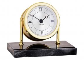 CHATHAM CLOCK BLK/MARB/BA