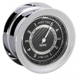 CHELSEA TIDE CLOCK CHROME