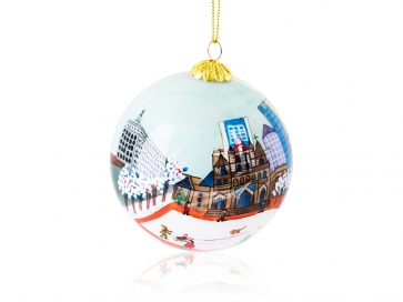 Kanin Press Copley Square Ornament