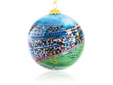 Kanin Press New England Football Ornament