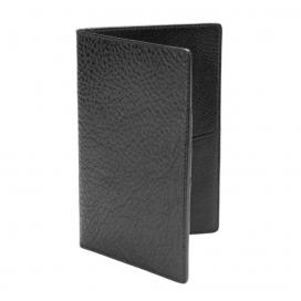 Lotuff Passport Travel Wallet Black