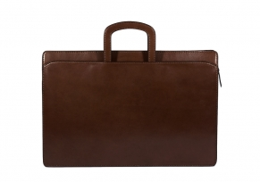 Lotuff Wells Briefcase Chocolate
