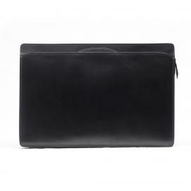 Lotuff Wells Briefcase-Black Bridle