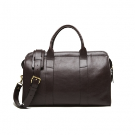 Lotuff Small Duffle with Shoulder Strap Chocolate